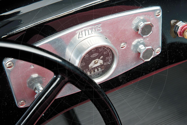 Atlas Babycar dashboard Pic: RM Sotheby's | Atlas Babycar dashboard