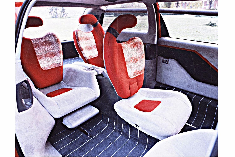 Bertone Genesis rear seats Pic: magiccarpics.co.uk | Bertone Genesis rear seats