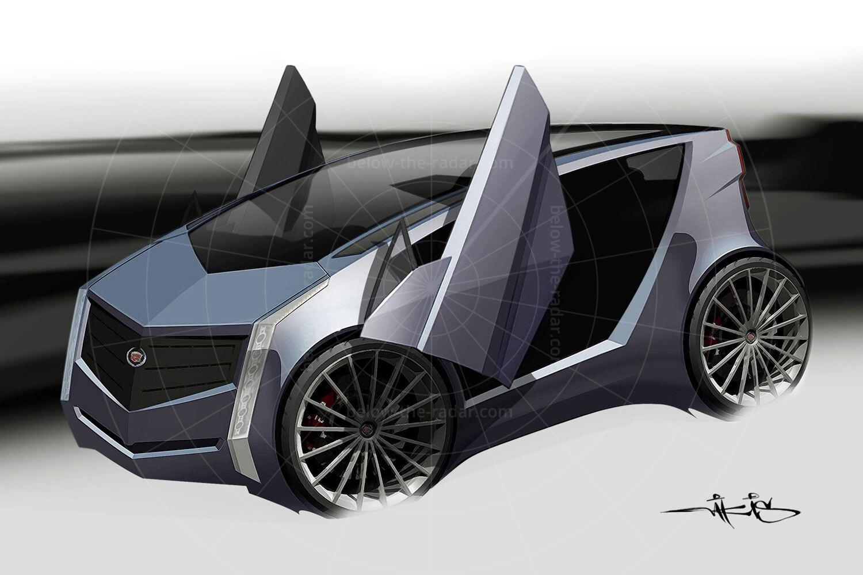 Cadillac Urban Luxury Concept sketch Pic: GM   Cadillac Urban Luxury Concept sketch