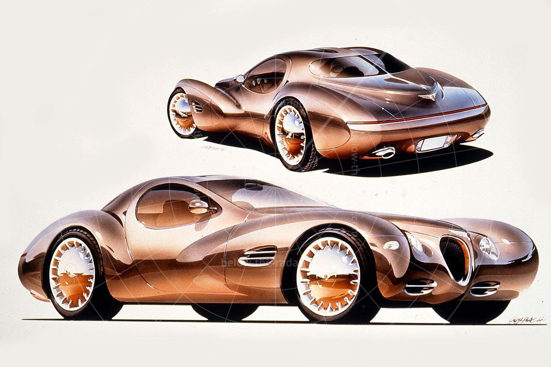 Chrysler Atlantic concept sketch