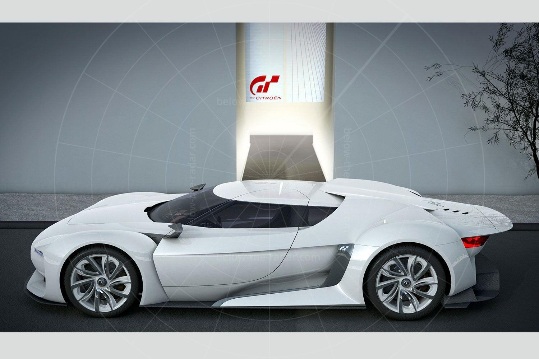 Citroen GT concept Pic: Citroen   Citroen GT concept