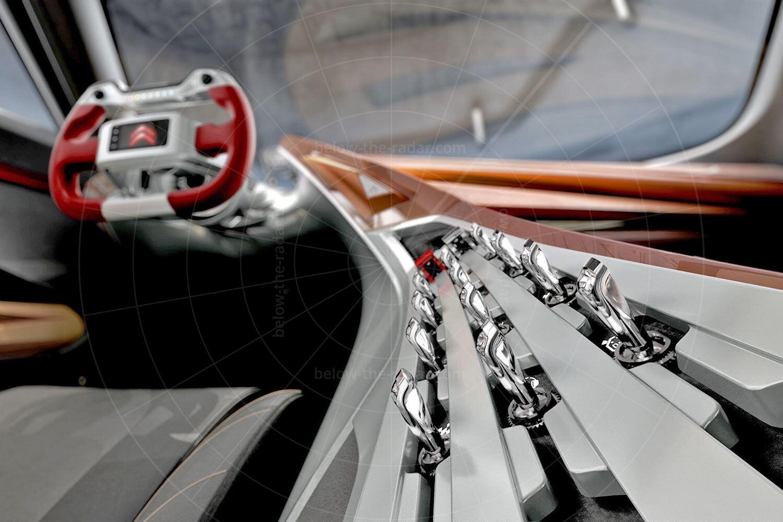 Citroen GT concept interior Pic: Citroen   Citroen GT concept interior