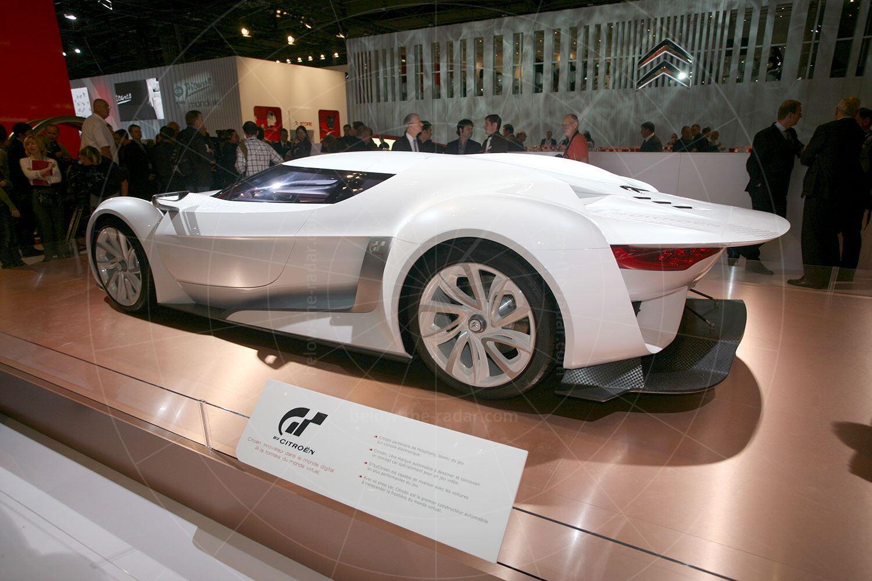 Citroen GT concept at the 2008 Paris Salon Pic: magiccarpics.co.uk   Citroen GT concept at the 2008 Paris Salon