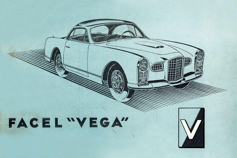 Facel Vega 1954 FV brochure Pic: magiccarpics.co.uk | Facel Vega 1954 FV brochure