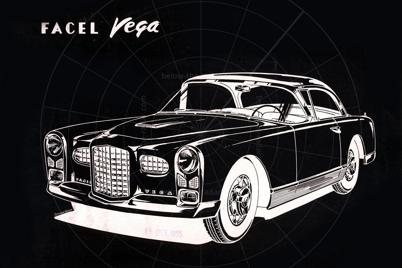 Facel Vega 1955 FV brochure Pic: magiccarpics.co.uk | Facel Vega 1955 FV brochure