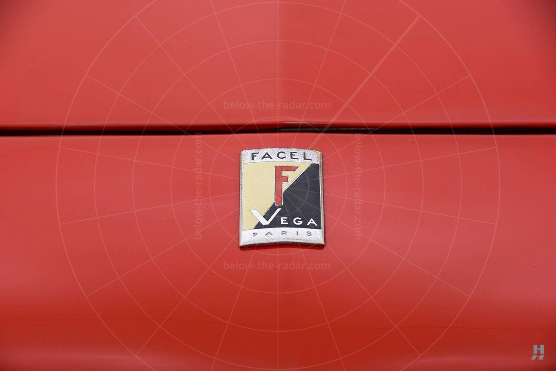 Facel Vega HK500 badge Pic: Hyman Ltd | Facel Vega HK500 badge