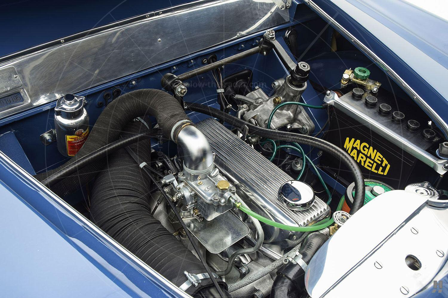 Fiat 1100 cabriolet by Allemano - engine bay Pic: Hyman Ltd | Fiat 1100 cabriolet by Allemano - engine bay