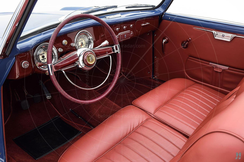Fiat 1100 cabriolet by Allemano - interior Pic: Hyman Ltd | Fiat 1100 cabriolet by Allemano - interior