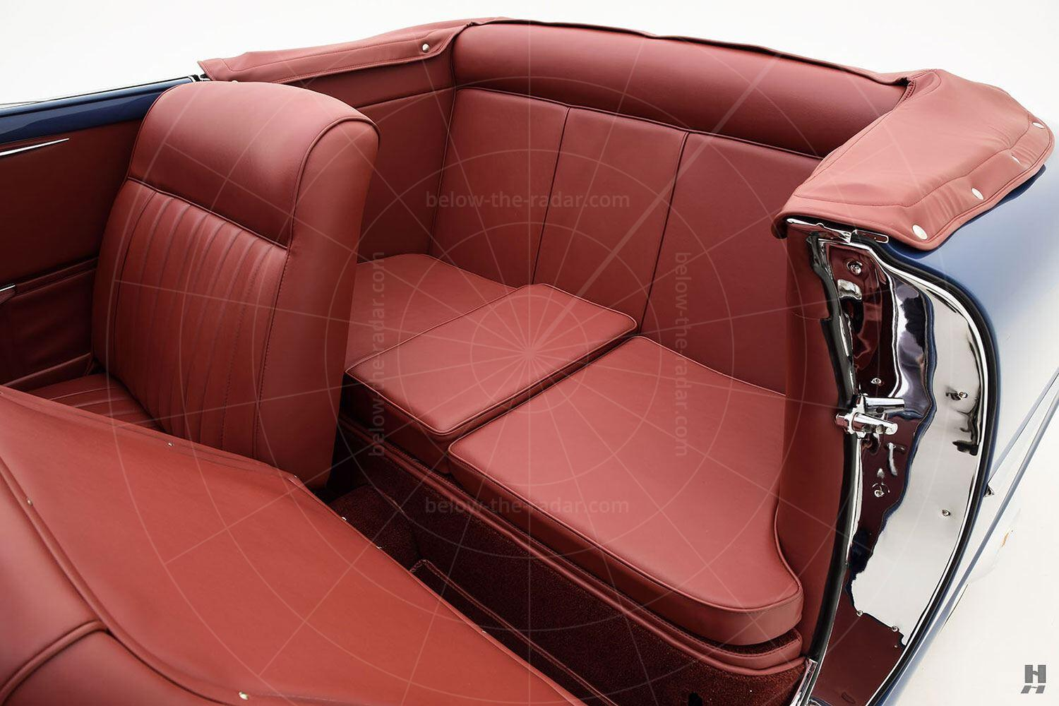Fiat 1100 cabriolet by Allemano - rear seat Pic: Hyman Ltd | Fiat 1100 cabriolet by Allemano - rear seat