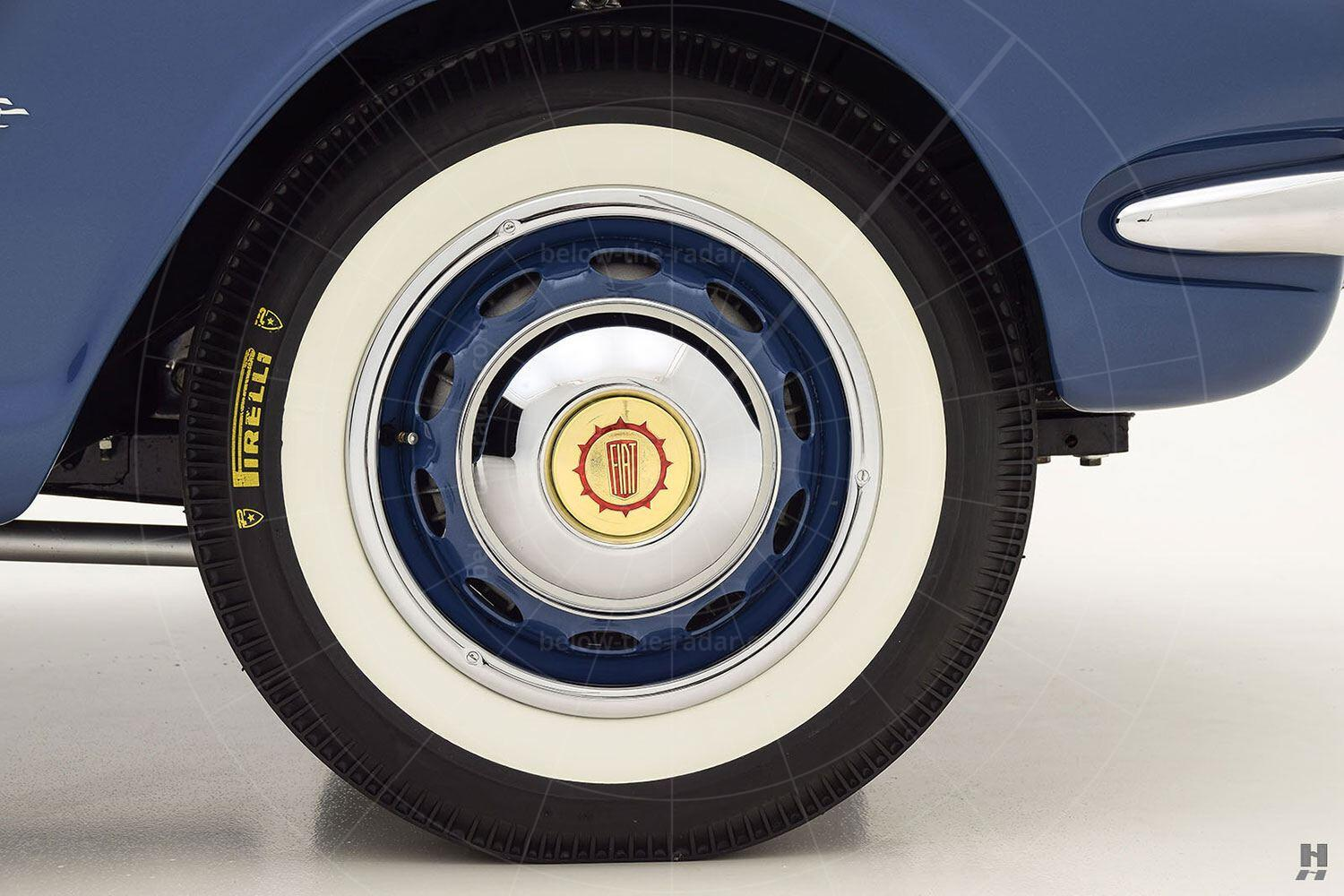 Fiat 1100 cabriolet by Allemano - front wheel Pic: Hyman Ltd | Fiat 1100 cabriolet by Allemano - front wheel