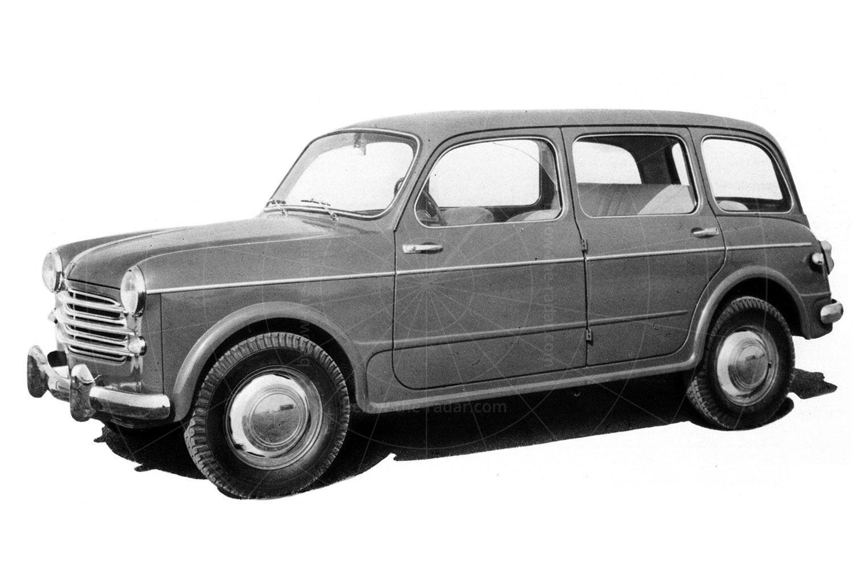 The original Fiat 1100 is estate form Pic: magiccarpics.co.uk | The original Fiat 1100 is estate form