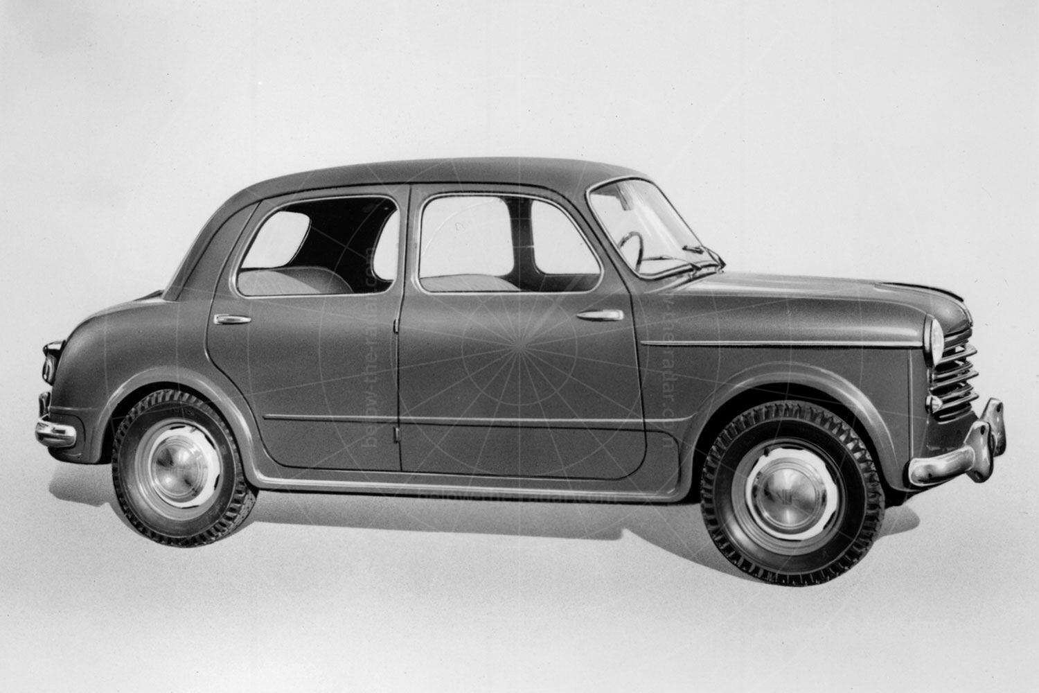 The original Fiat 1100 is saloon form Pic: magiccarpics.co.uk | The original Fiat 1100 is saloon form