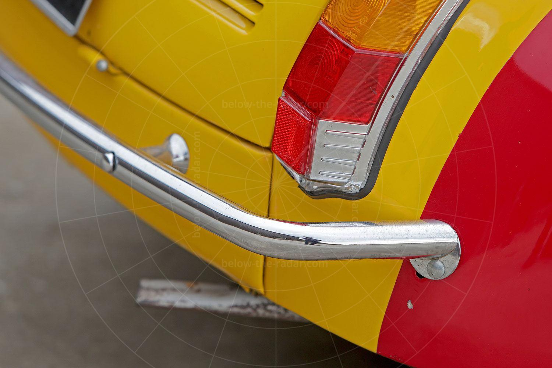 Fiat Gamine chrome bumper bar Pic: magiccarpics.co.uk | Fiat Gamine chrome bumper bar