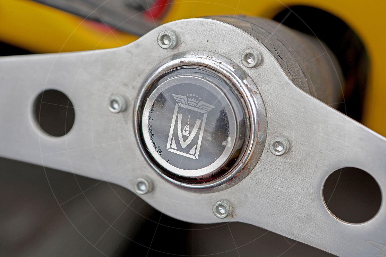 Fiat Gamine steering wheel Pic: magiccarpics.co.uk | Fiat Gamine steering wheel