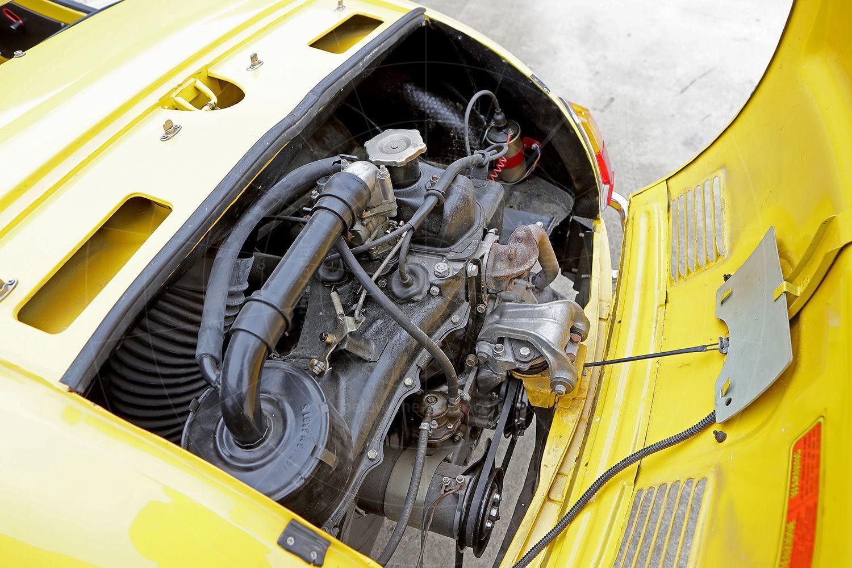 Fiat Gamine engine bay Pic: magiccarpics.co.uk | Fiat Gamine engine bay