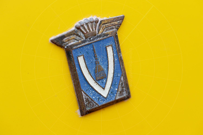 Fiat Gamine Vignale badge Pic: magiccarpics.co.uk | Fiat Gamine Vignale badge
