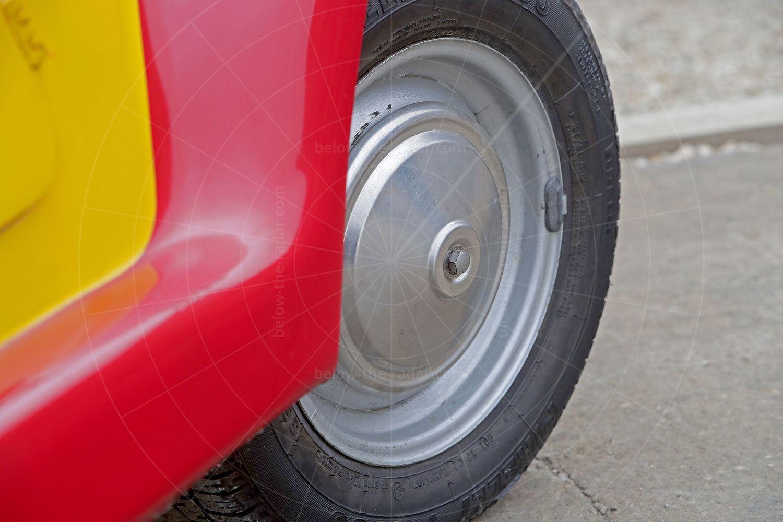 Fiat Gamine steel wheel Pic: magiccarpics.co.uk | Fiat Gamine steel wheel