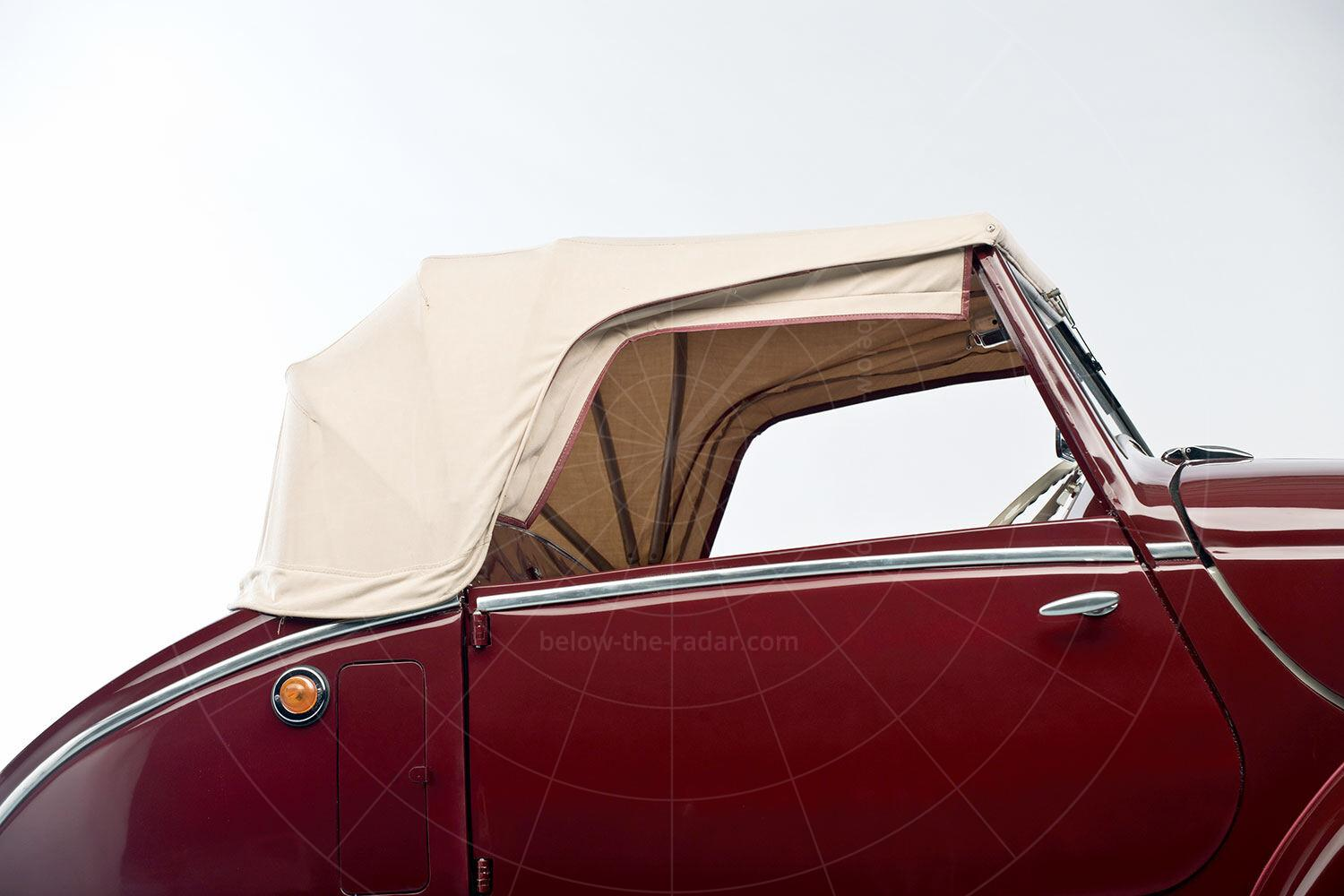 Julien MM5 fabric roof Pic: RM Sotheby's   Julien MM5 fabric roof