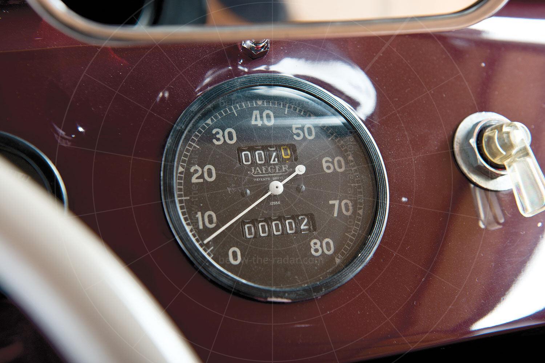Julien MM5 speedometer Pic: RM Sotheby's   Julien MM5 speedometer