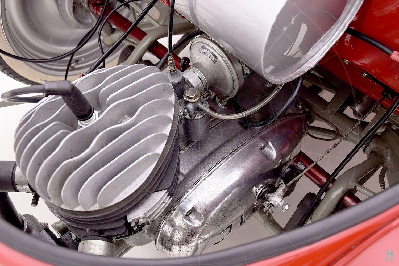 Kleinschnittger F125 engine Pic: Hyman Ltd | Kleinschnittger F125 engine