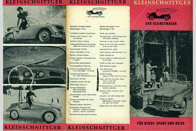 Kleinschnittger F125 brochure Pic: magiccarpics.co.uk | Kleinschnittger F125 brochure