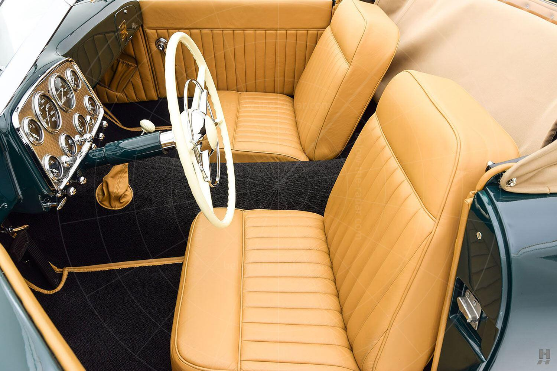 Kurtis Sports Car interior Pic: Hyman Ltd | Kurtis Sports Car interior