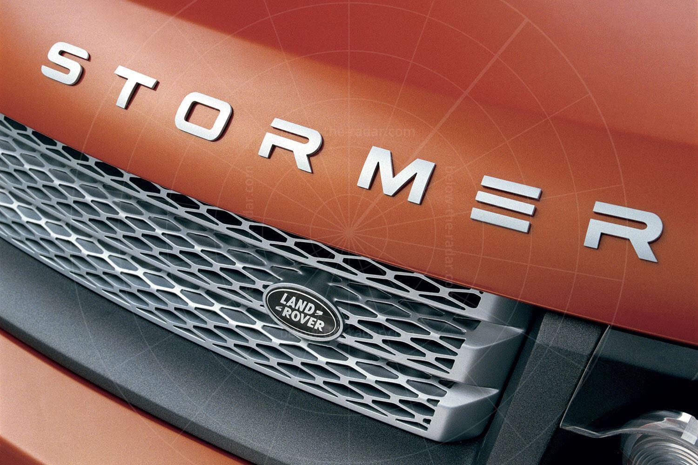 Land Rover Range Stormer Pic: Land Rover | Land Rover Range Stormer