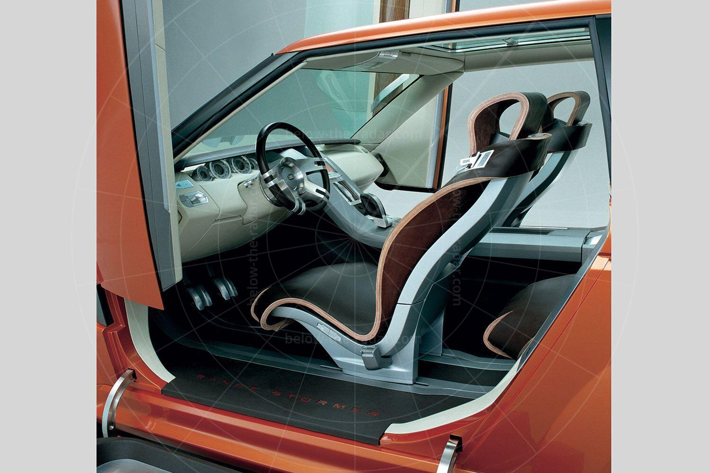 Land Rover Range Stormer interior Pic: Land Rover | Land Rover Range Stormer interior