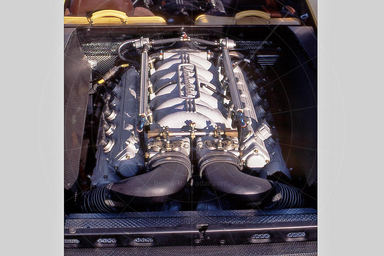 Lamborghini Cala engine bay Pic: magiccarpics.co.uk | Lamborghini Cala engine bay