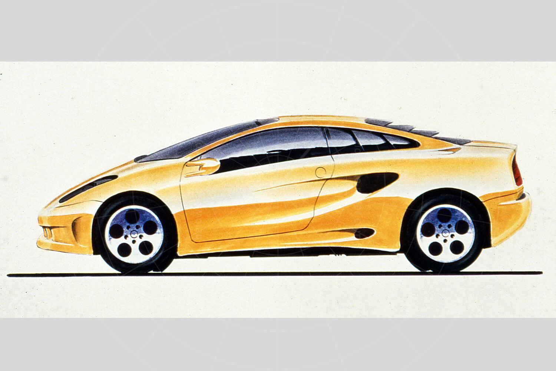 Lamborghini Cala design sketch Pic: magiccarpics.co.uk | Lamborghini Cala design sketch