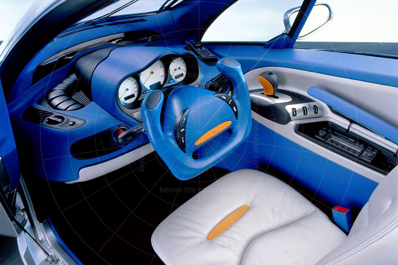 Mercedes F300 Life-Jet interior Pic: Mercedes-Benz   Mercedes F300 Life-Jet interior