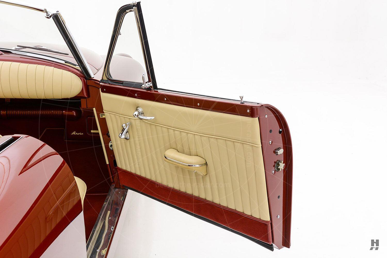 Muntz Jet door trim Pic: Hyman Ltd | Muntz Jet door trim