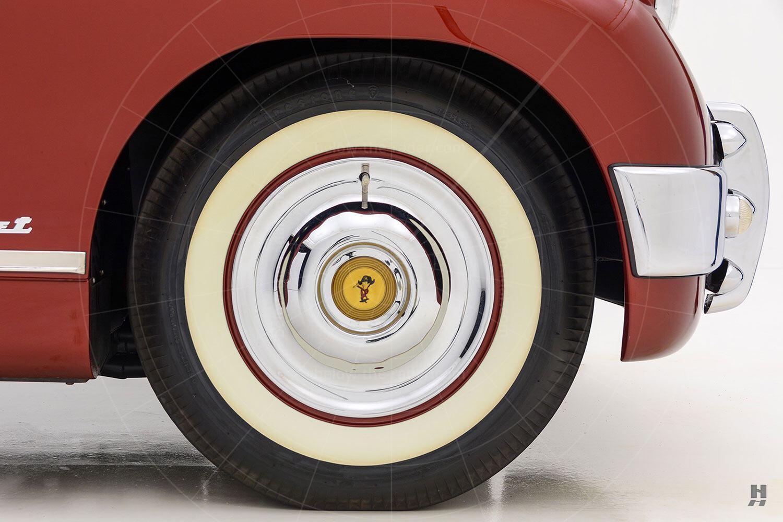 Muntz Jet front wheel Pic: Hyman Ltd | Muntz Jet front wheel