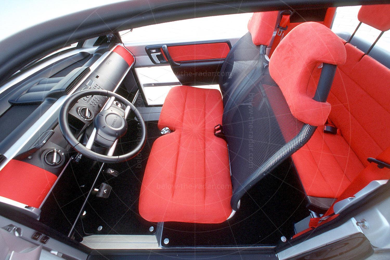 Opel Maxx two-door interior Pic: GM | Opel Maxx two-door interior