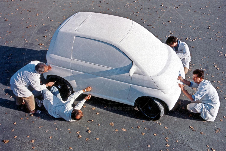 Opel Maxx two-door mock-up Pic: GM | Opel Maxx two-door mock-up