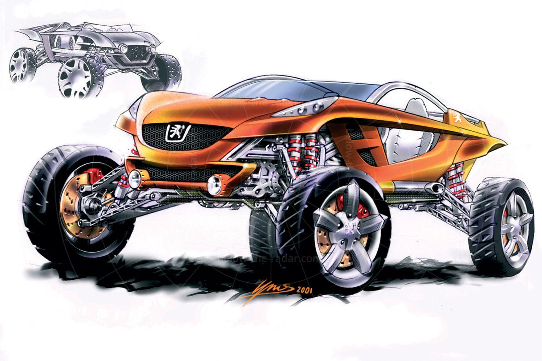 Peugeot Hoggar sketch