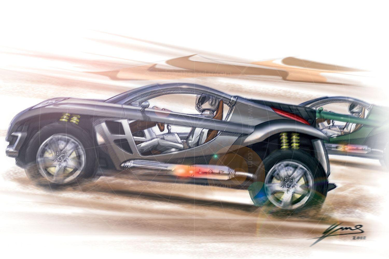 Peugeot Hoggar sketch Pic: Peugeot   Peugeot Hoggar sketch