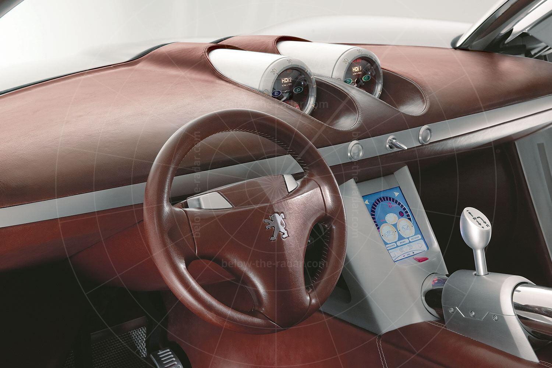 Peugeot Hoggar dashboard Pic: Peugeot   Peugeot Hoggar dashboard