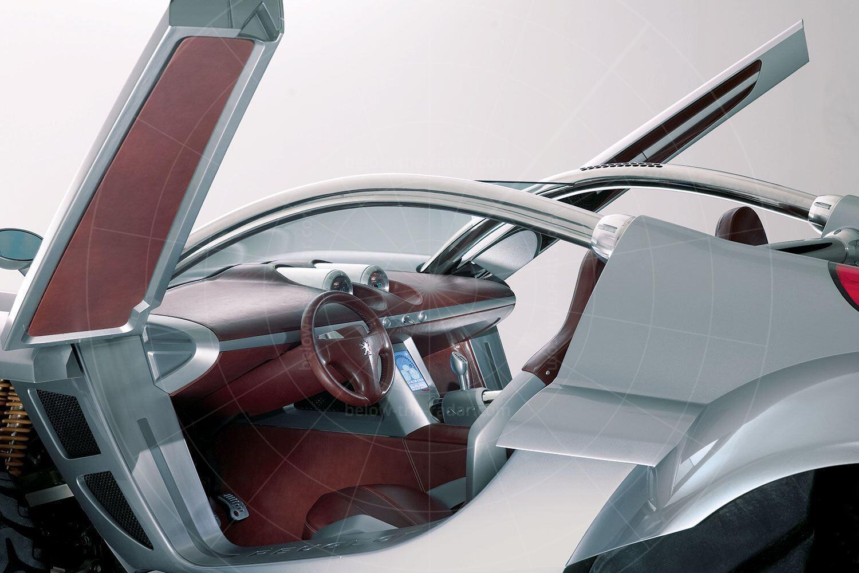 Peugeot Hoggar interior Pic: Peugeot   Peugeot Hoggar interior