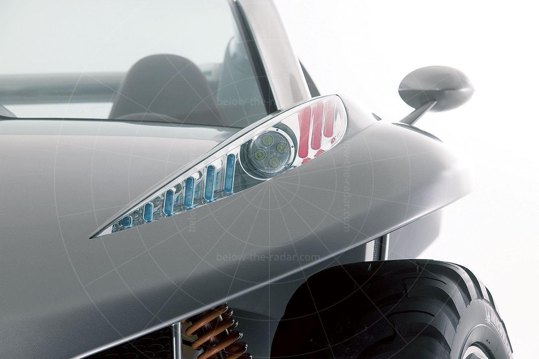 Peugeot Hoggar headlight Pic: Peugeot   Peugeot Hoggar headlight