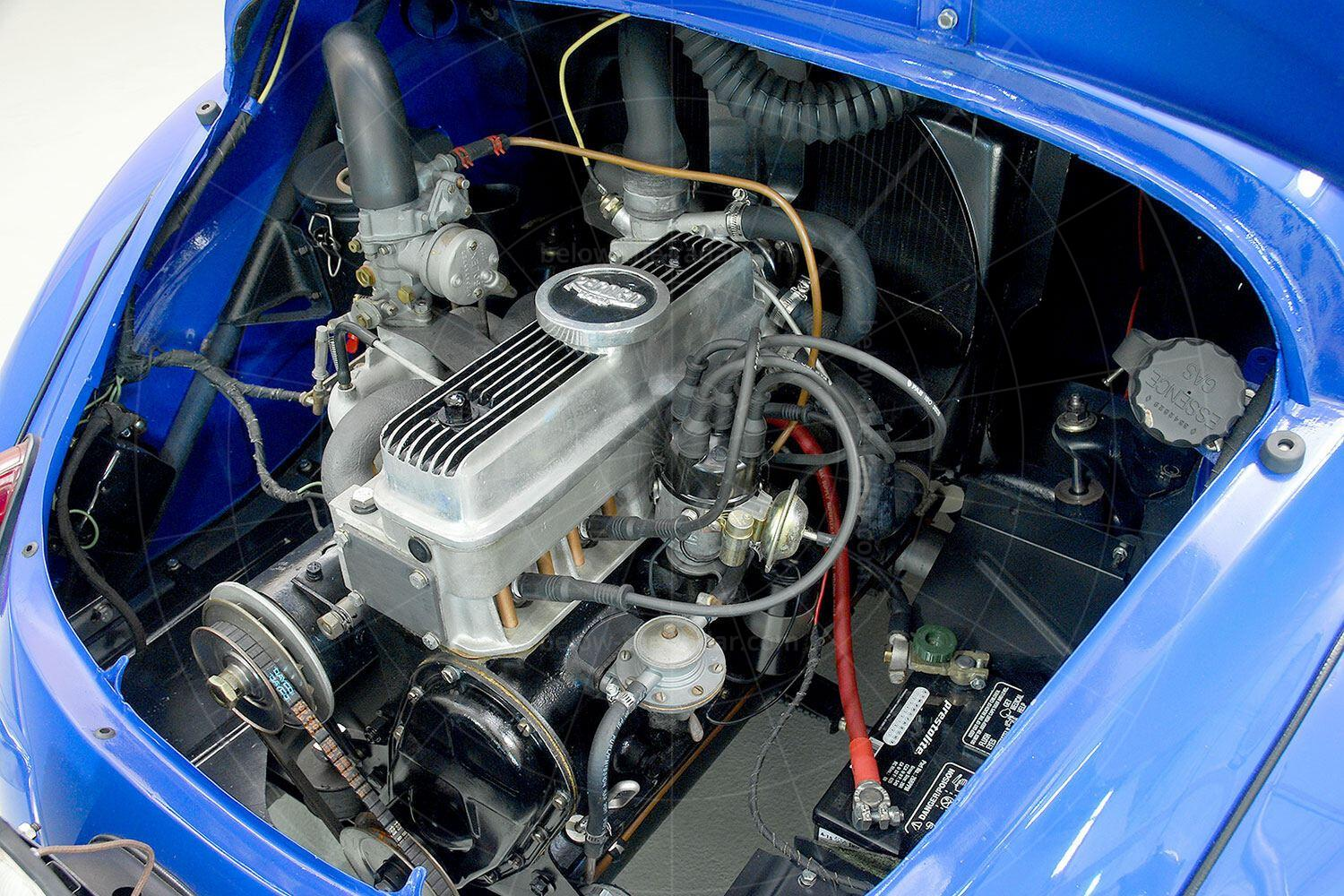 Renault 4CV Jolly engine bay Pic: Hyman Ltd | Renault 4CV Jolly engine bay