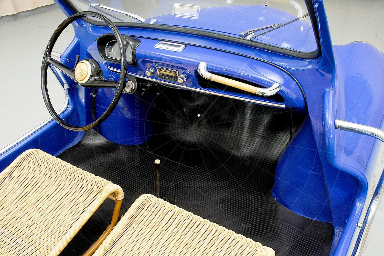 Renault 4CV Jolly interior Pic: Hyman Ltd | Renault 4CV Jolly interior