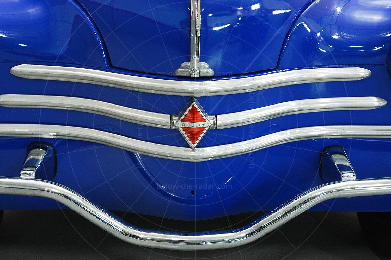 Renault 4CV Jolly grille Pic: Hyman Ltd   Renault 4CV Jolly grille