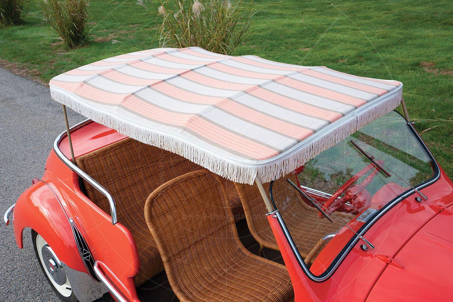 Renault 4CV Jolly canopy Pic: RM Sotheby's   Renault 4CV Jolly canopy