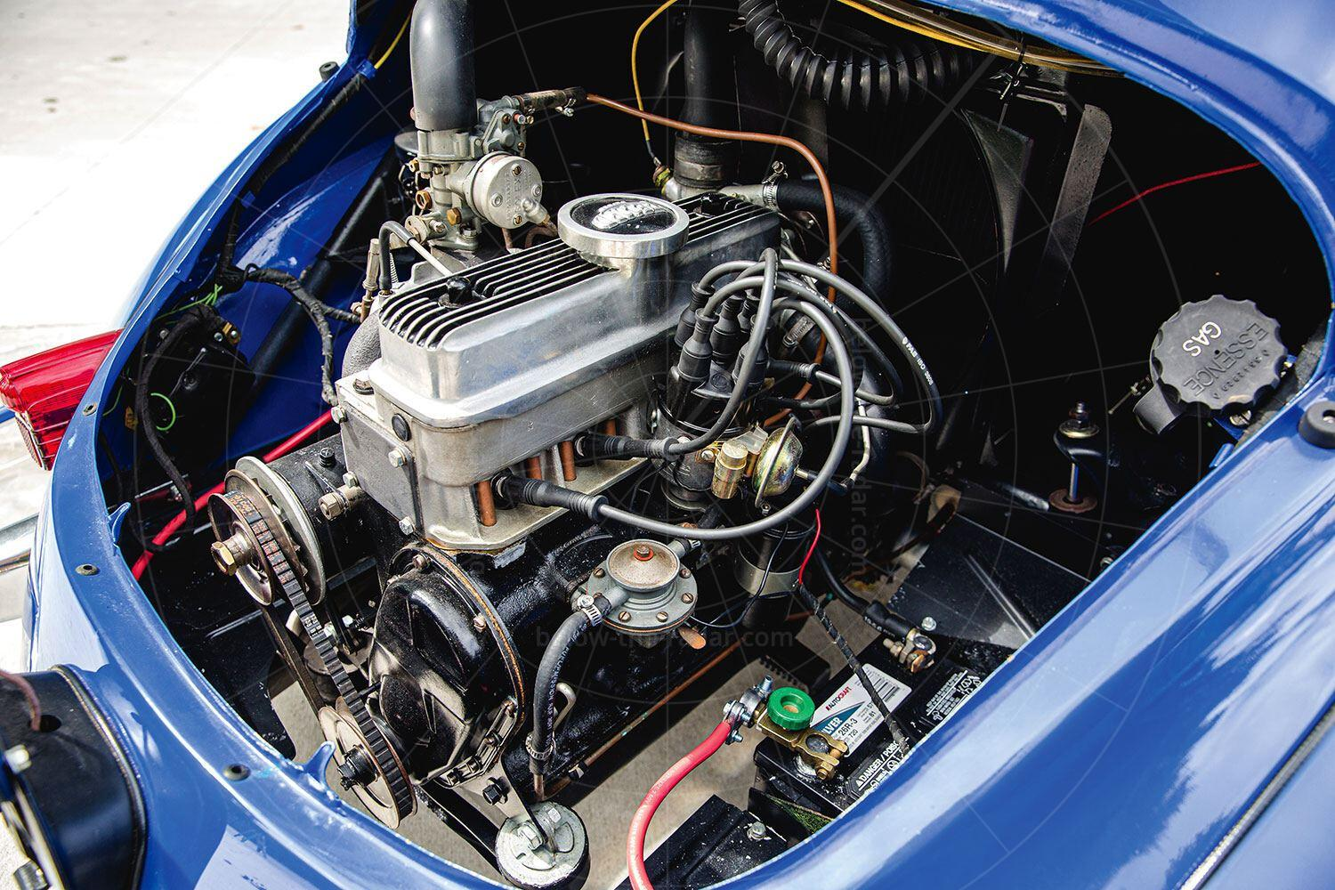 Renault 4CV Jolly engine bay Pic: RM Sotheby's | Renault 4CV Jolly engine bay