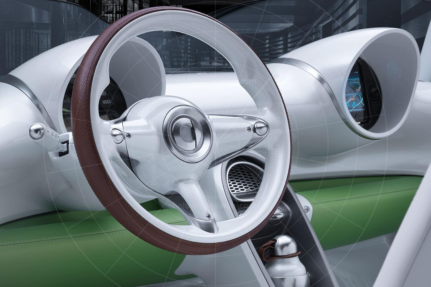 Smart ForSpeed concept dashboard Pic: Smart | Smart ForSpeed concept dashboard