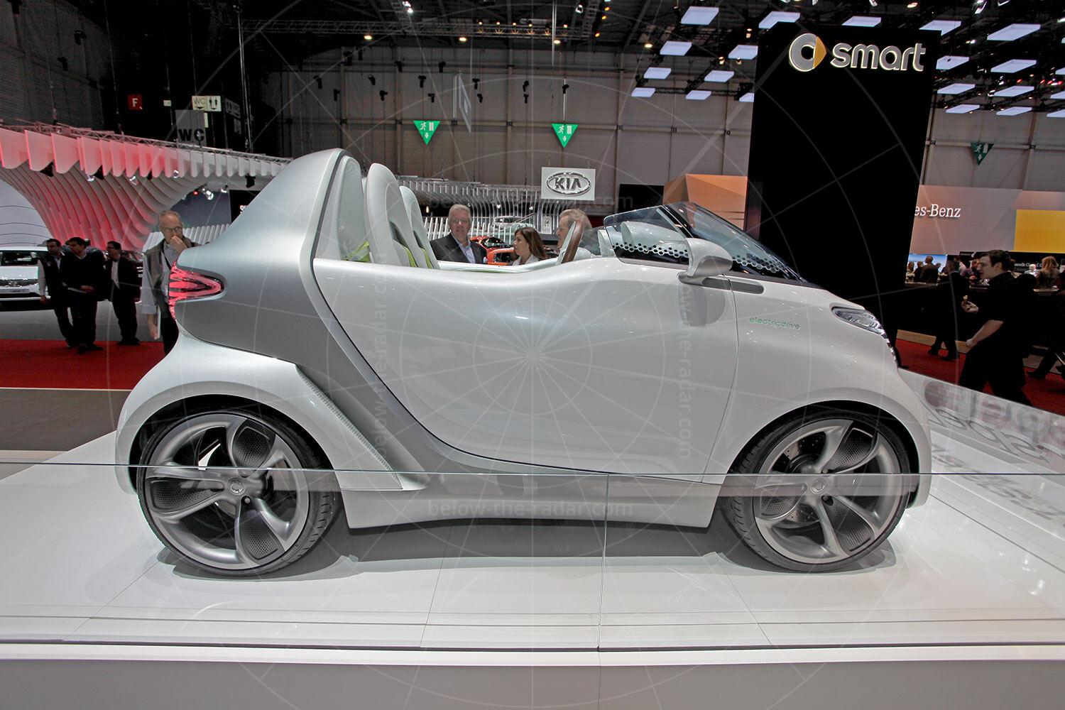 Smart ForSpeed concept at the 2011 Geneva motor show Pic: Smart | Smart ForSpeed concept at the 2011 Geneva motor show