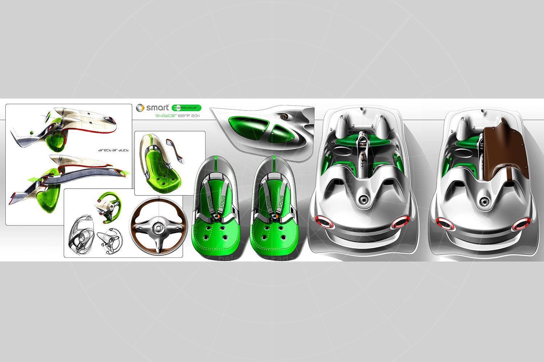 Smart ForSpeed concept Pic: Smart | Smart ForSpeed concept design sketch
