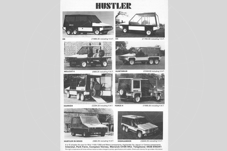 Towns Hustler sales leaflet Pic: magiccarpics.co.uk | Towns Hustler sales leaflet