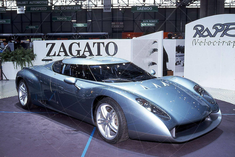 Zagato Raptor at the 1996 Geneva Salon Pic: magiccarpics.co.uk   Zagato Raptor at the 1996 Geneva Salon